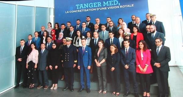 Le Maroc inaugure le port de Tanger Med 2