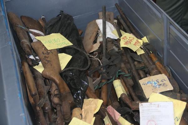 Sécurité à Bouaké : La ComNat-ALPC saisit et détruit 356 armes