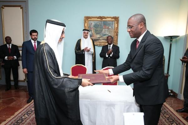 Côte d'Ivoire : Le Qatar arrive ! Quatre accords signés. « Nous restons un marché libre ! » (Ouattara)