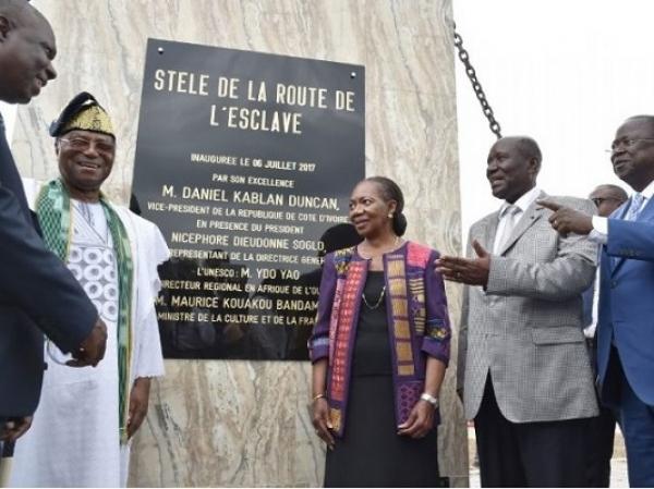 La Côte d'Ivoire retrace la route des esclaves de la traite négrière sur son territoire