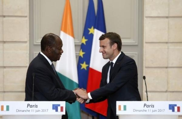 La France et la Côte d'Ivoire vont renforcer leur coopération militaire (Macron)