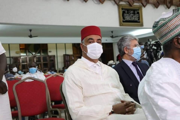 Côte d'Ivoire/ L'ambassadeur du Royaume du Maroc  à la célébration de la nuit d'Al-Qadr